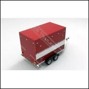 Projeto Completo Reboque Trailer Lanches Food Truck 2 Eixos