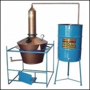 Mini Destilaria Etanol Faça 100 Litros Ao Dia