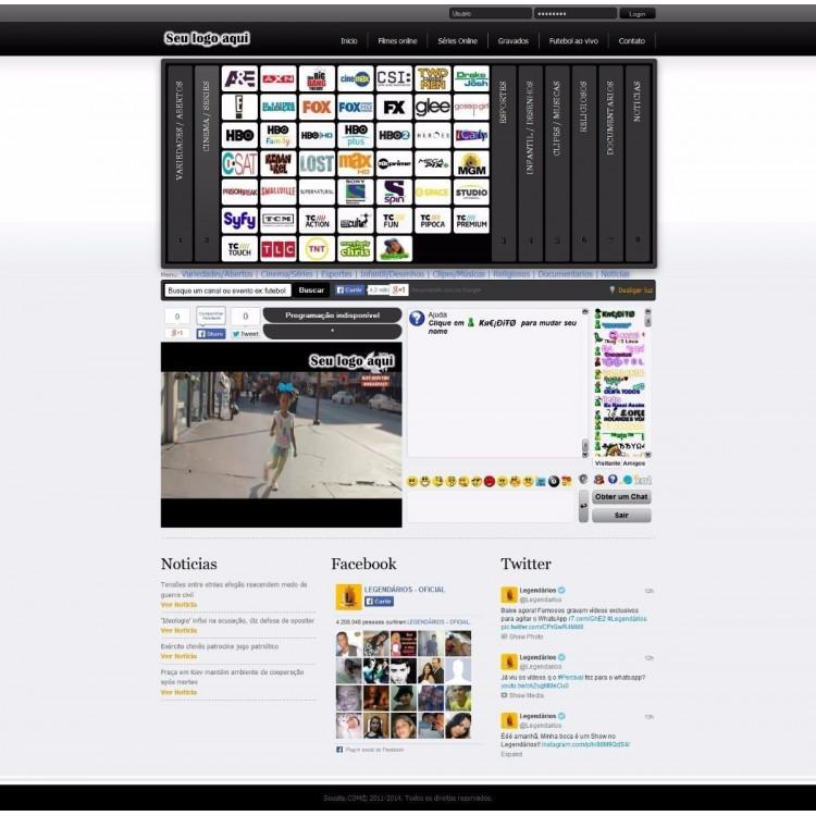 Script Tv Online P/ Assinante ( Lançamento )