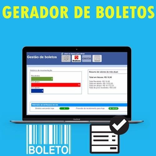 Gerador De Boletos Com Retorno 2016