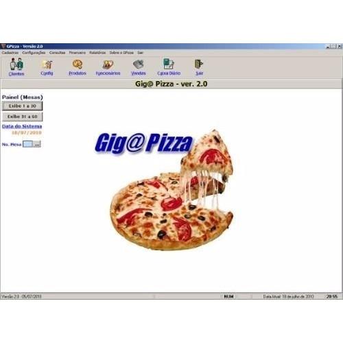 Sistema P/ Pizzaria, Restaurante, Lanchonete E Tele Delivery