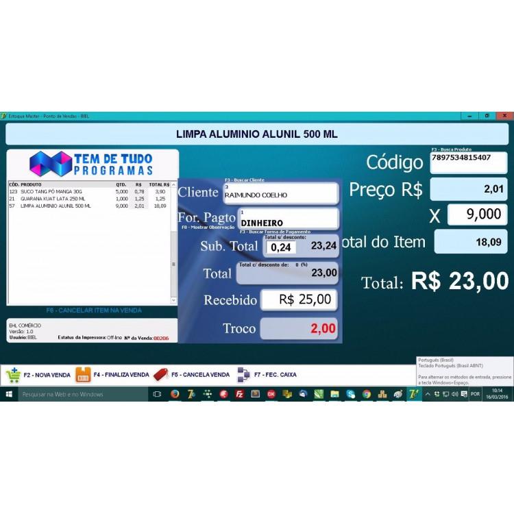 Código Fonte Delphi Xe8 Do Sistema Estoque + Pdv Não Fiscal