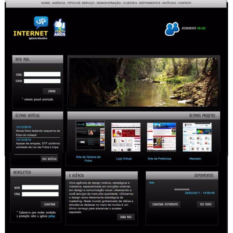 Script 2013 De Agência De Publicidade E Webmaster - Sem Bugs