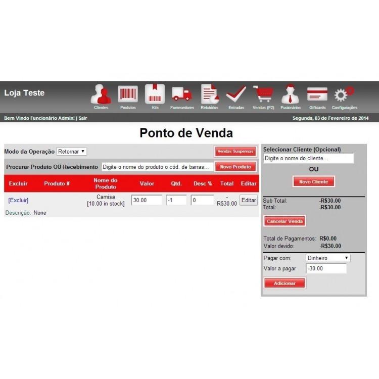 Sistema De Vendas - Pdv - Web Script Php + Codigo Fonte Php