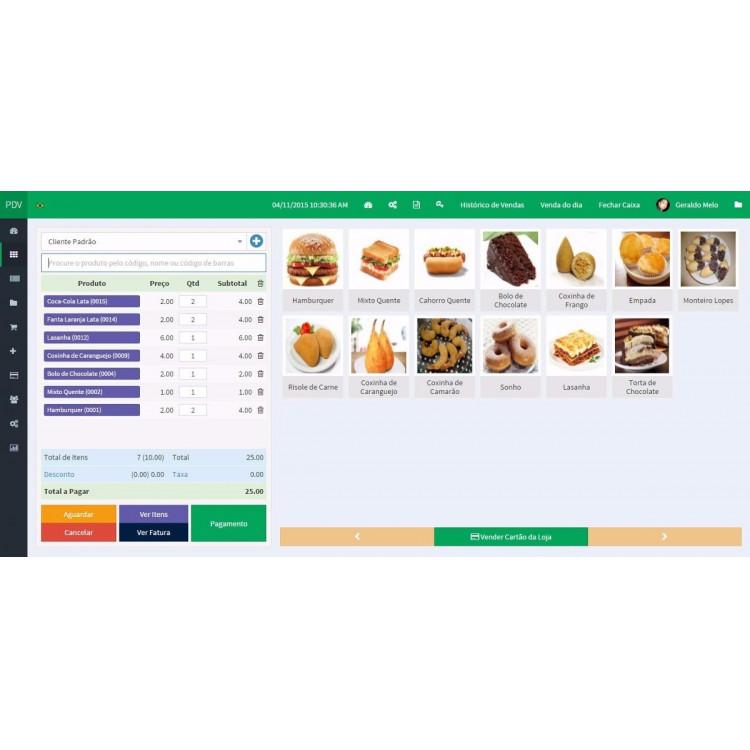 Sistema Software P/ Loja De Açai, Sorveteria E Lanchonete