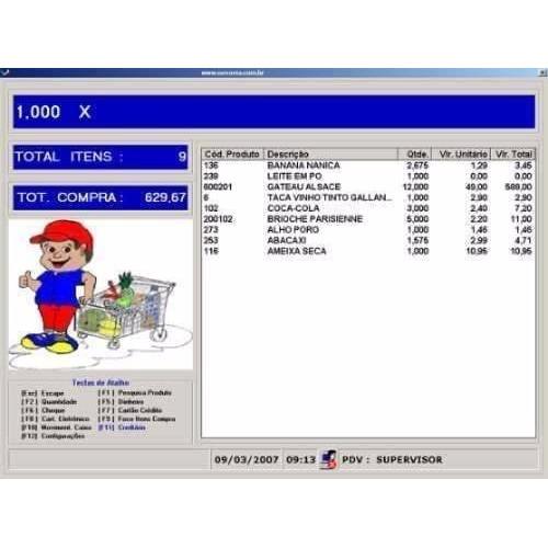Sistema Programa Para Padarias, Estoques Financeiros Vendas