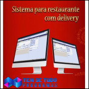 Software, Programa Restaurante, Pizzaria, Lanchonete, Bares