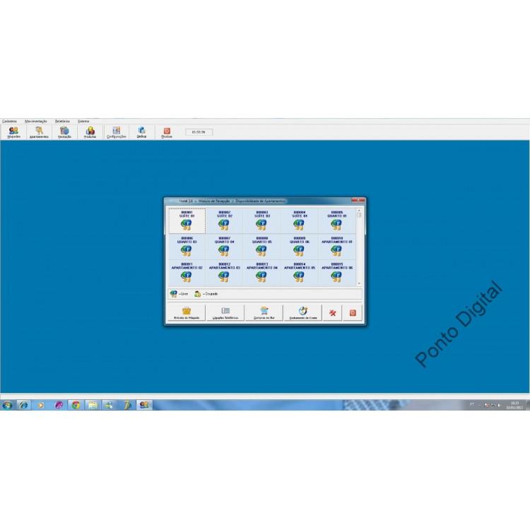 Hotel Sistema Programa Software Fontes Em Delphi