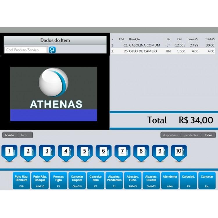 Sistema Athenas Posto De Combustivel E Lojas - Fontes Delphi