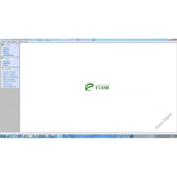 Sistema Programa Software Para Laboratório Análises Clinicas