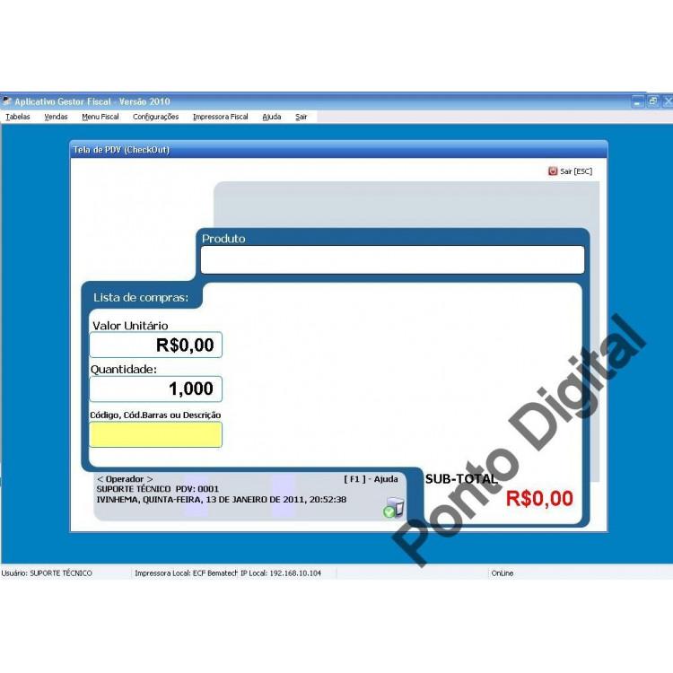 Sistema Automação Comercial 2011 Em Delphi Pdv Paf Ecf